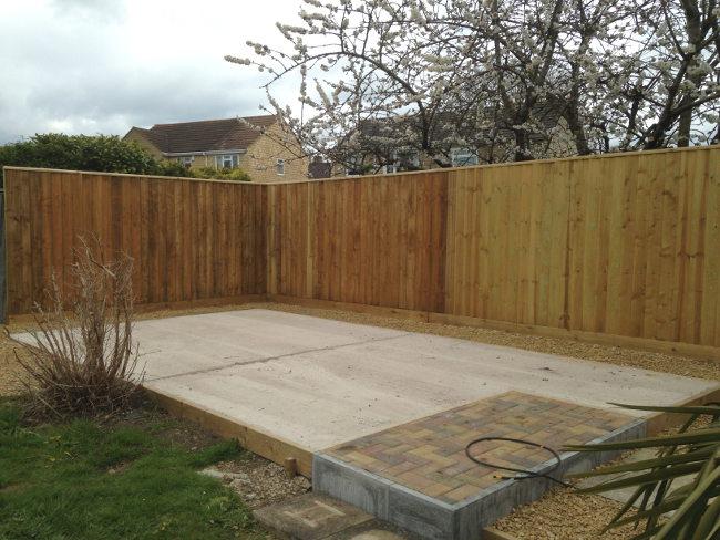 Concrete for Garden